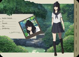 Meiko (Tsuiikimura App) by PyraDemonia