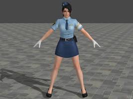 DOA5U Momiji Police costume by zareef