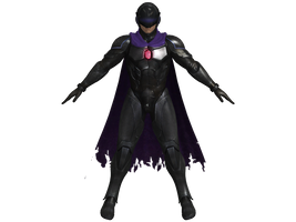 DOA5 LR Ryu Hayabusa Fighter force costume by zareef
