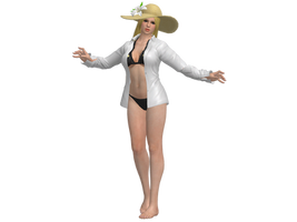 DOA5 LR Helena Hot Summer costume (UPDATED) by zareef