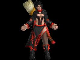 DOA5 LR Momiji Halloween 2015 costume by zareef