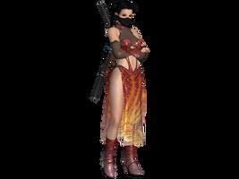 DOA5 LR Pai Chan Ninja costume by zareef