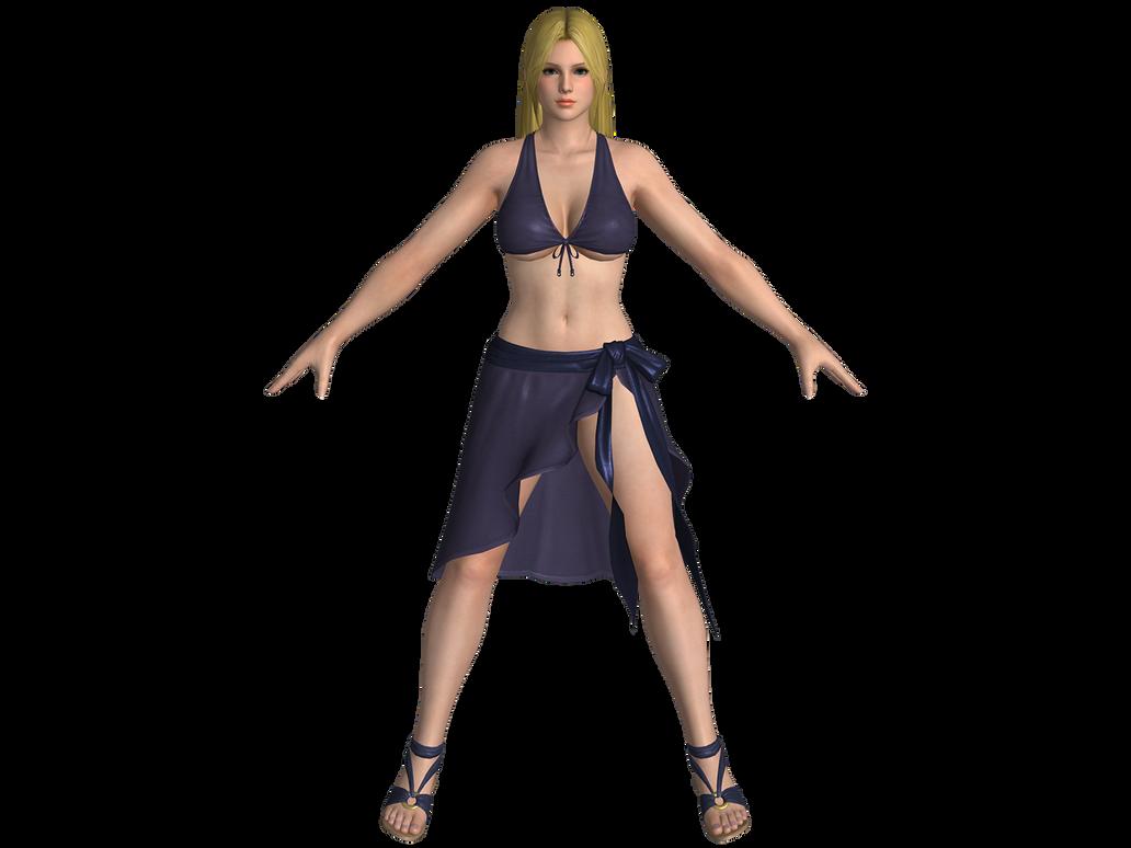 DOA5 LR Helena Gust mashup swimwear by zareef