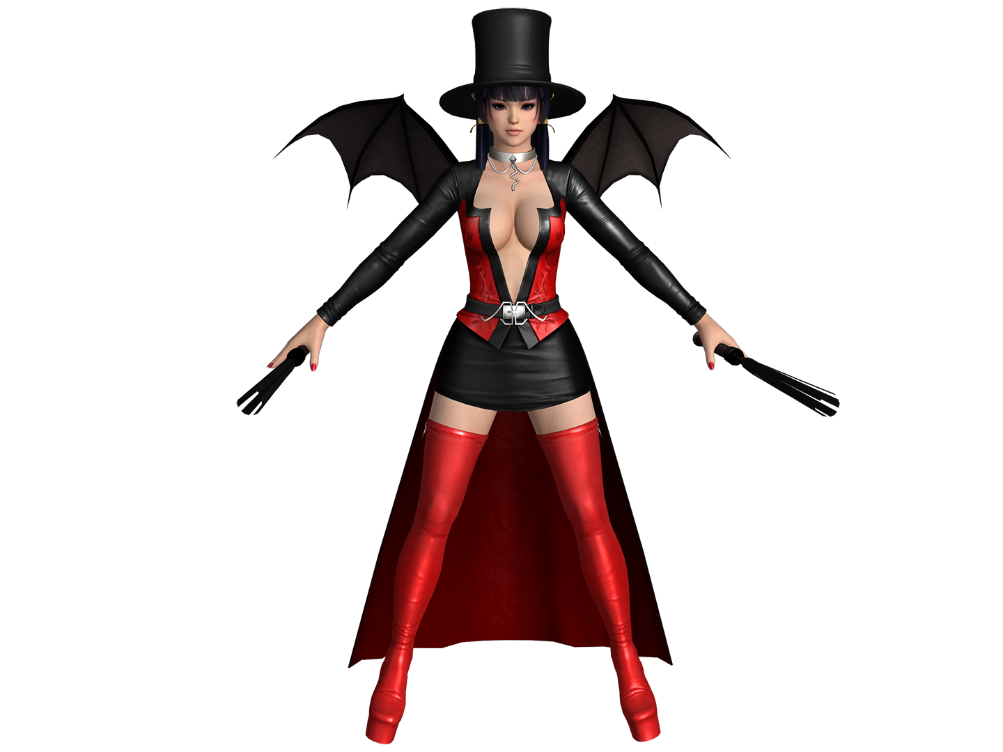 DOA5 LR Nyotengu Halloween 2017 (UPDATED)