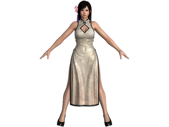 DOA5 LR Kokoro Alluring Mandarin dress by zareef