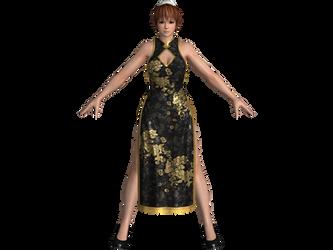 DOA5 LR Phase-4 Alluring Mandarin dress by zareef