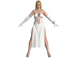 DOA5 LR Helena Satin dress (mod)
