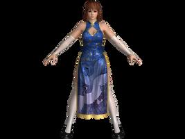 DOA5 LR Kasumi Alluring Mandarin dress