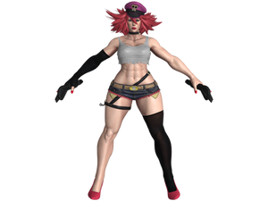 SFV Poison default costume