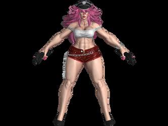 SFV Poison Nostalgia costume (Updated-All colors)