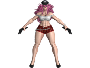 SFV Poison Nostalgia costume (Updated-All colors)
