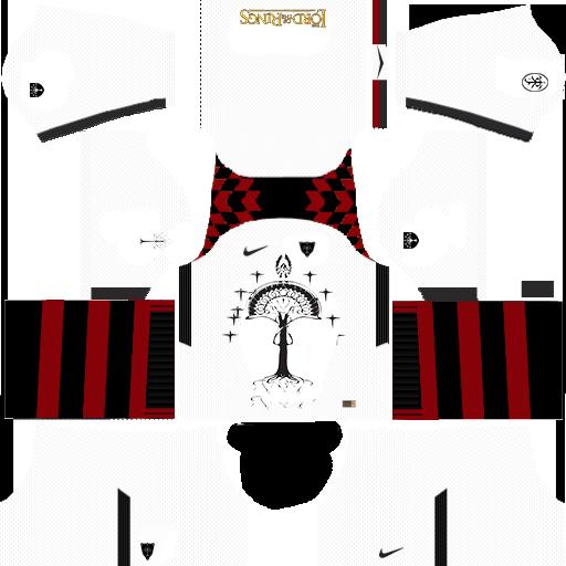 Numenor Gondor Dream League Soccer Kit 1 By MedievalHeart