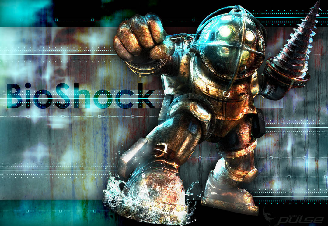 Bioshock Big Daddy Wallpaper By Pixel Spark On Deviantart