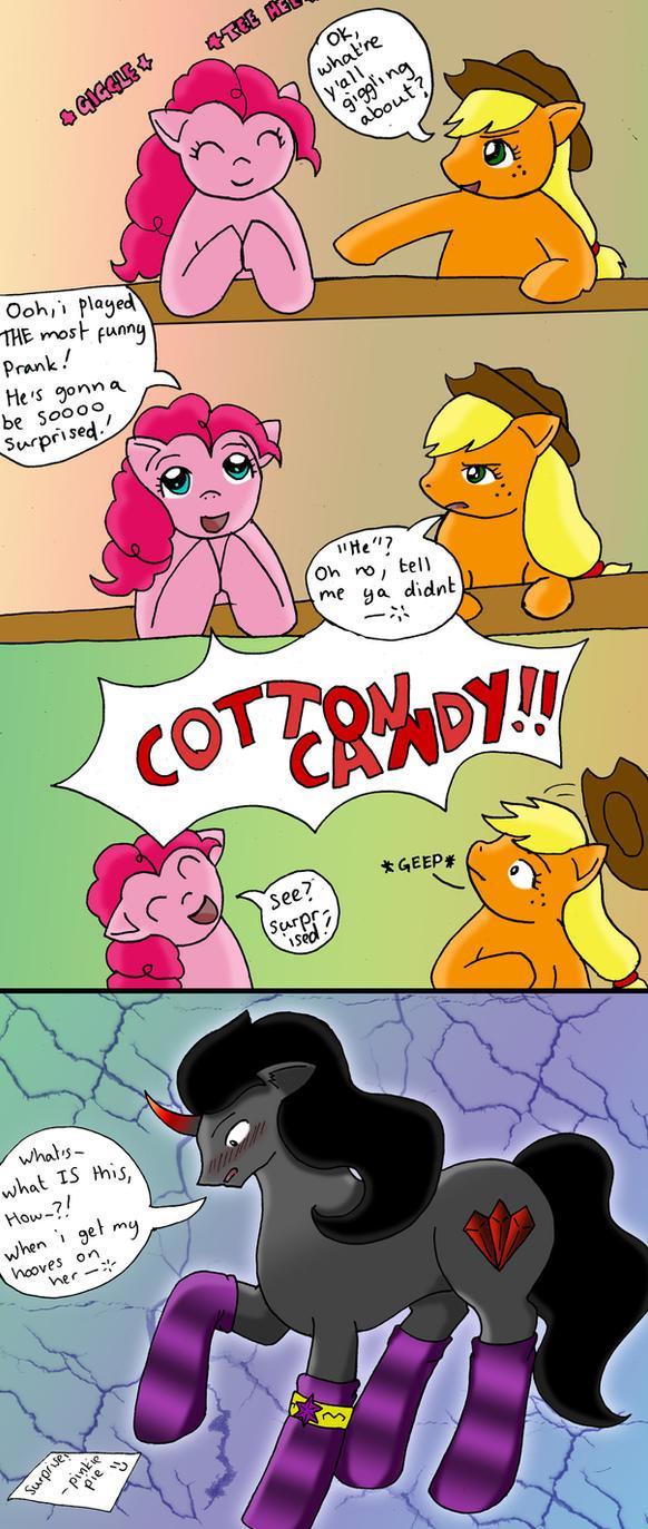 My Little Pony - Sombra The Sockspony! by YamanakaAngel