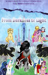 MLP Fimfiction - Darkness To Light POSTER