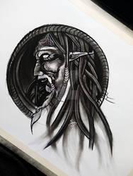 mage drawing