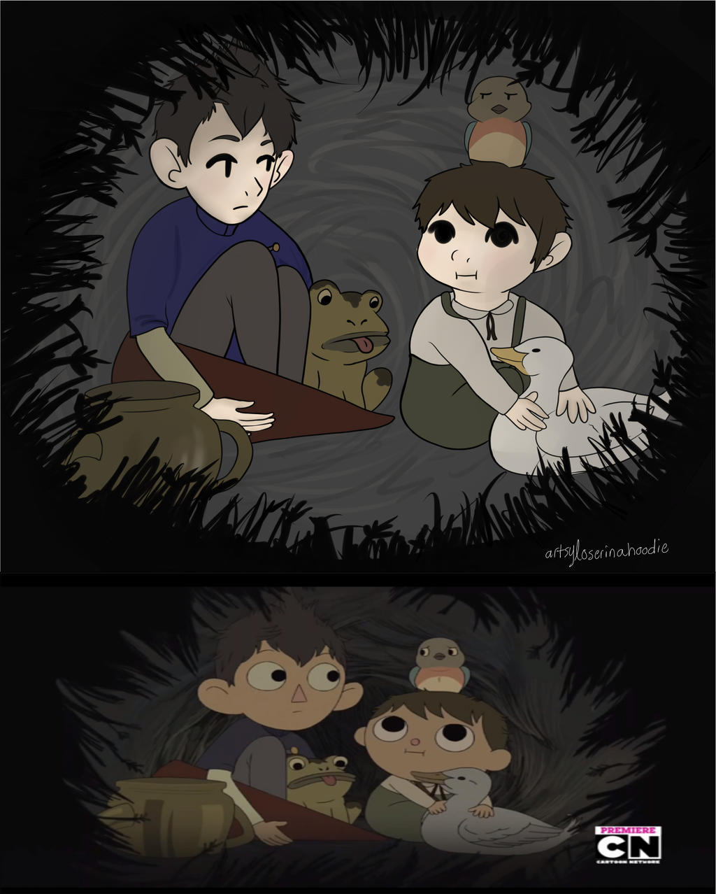 Over The Garden Wall Screenshot Redraw By Lord Loser On Deviantart