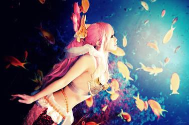 One Piece - Princess Shirahoshi by rolan666