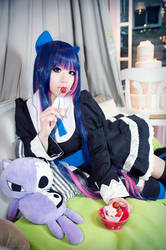 Panty and Stocking with Garterbelt - Stocking