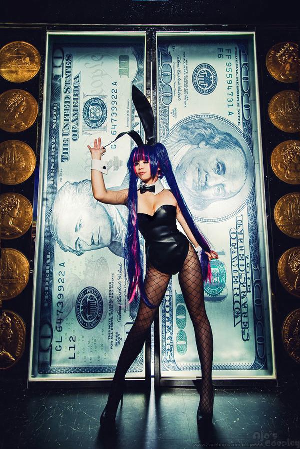 Panty Stocking Garterbelt - Stocking Bunny Girl by rolan666