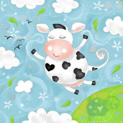 cow heaven by libelle