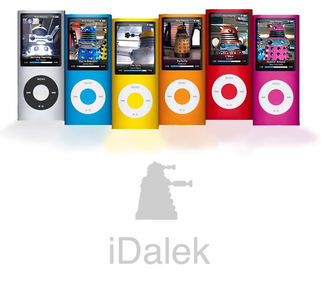 iDalek by Hydra-Lantern