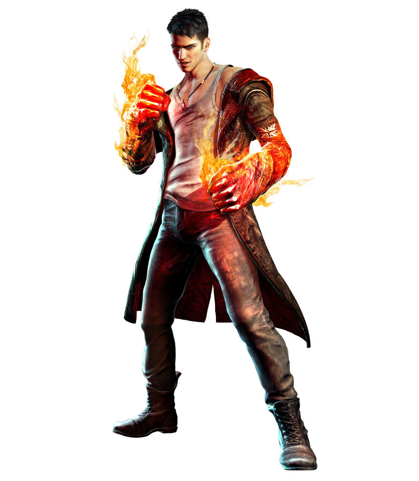And, in the red corner.. Dante!!! by FateDecider