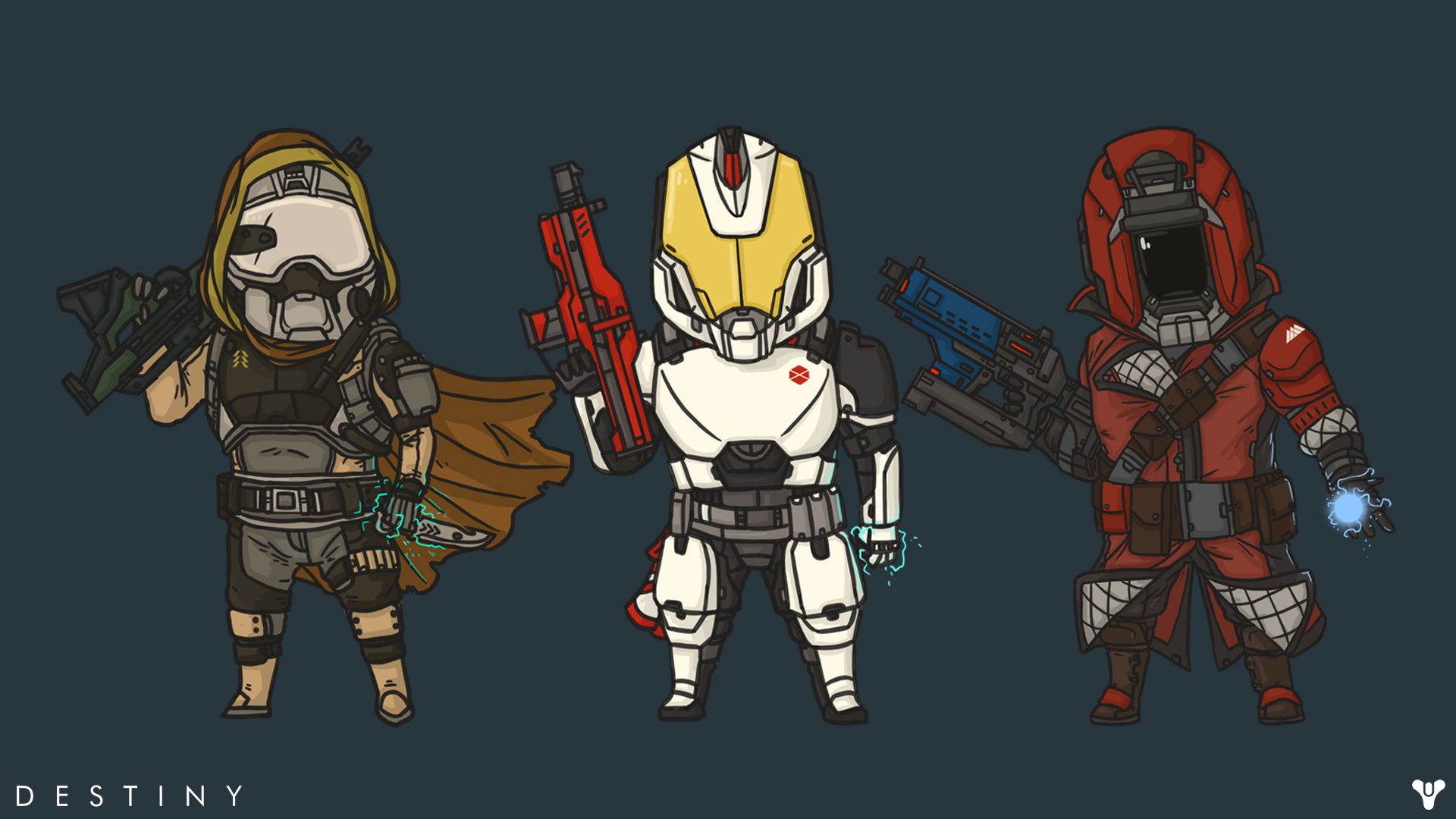 Cute Destiny Wallpaper by TheChrisPMan