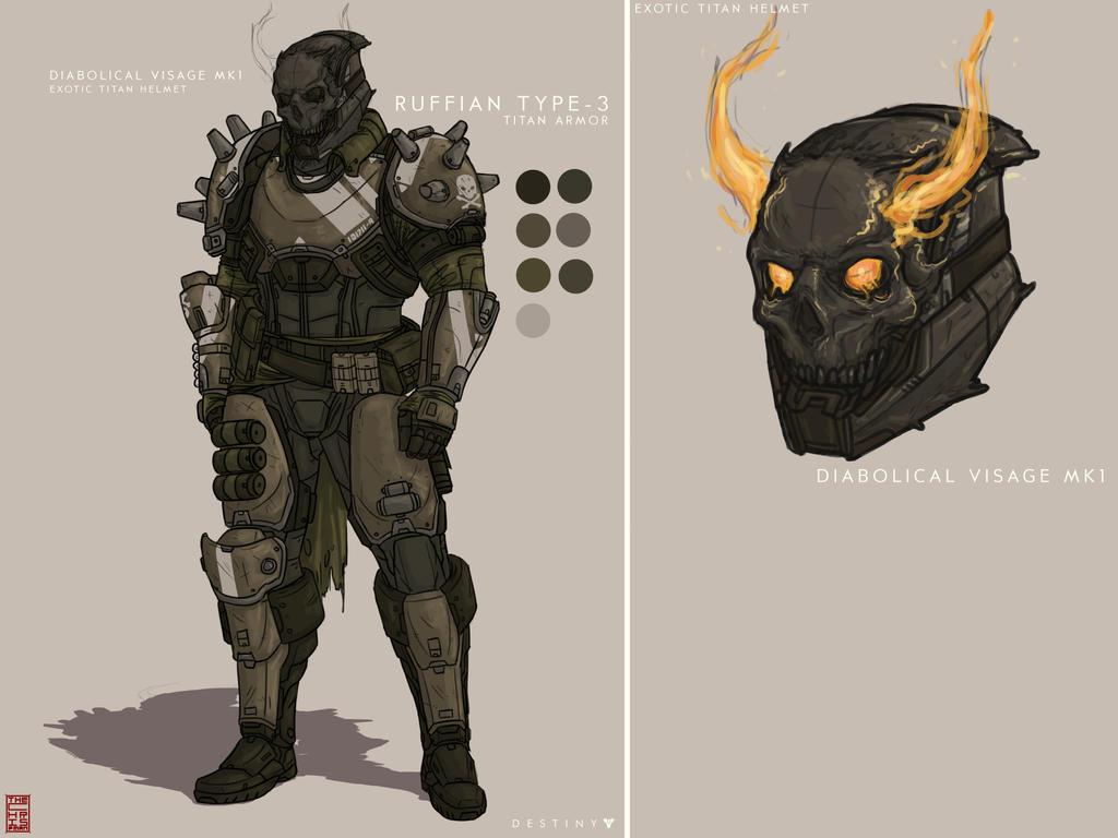 Destiny Titan Armor