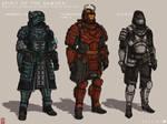 Destiny Concept Art 2-  Samurai Styled Armors