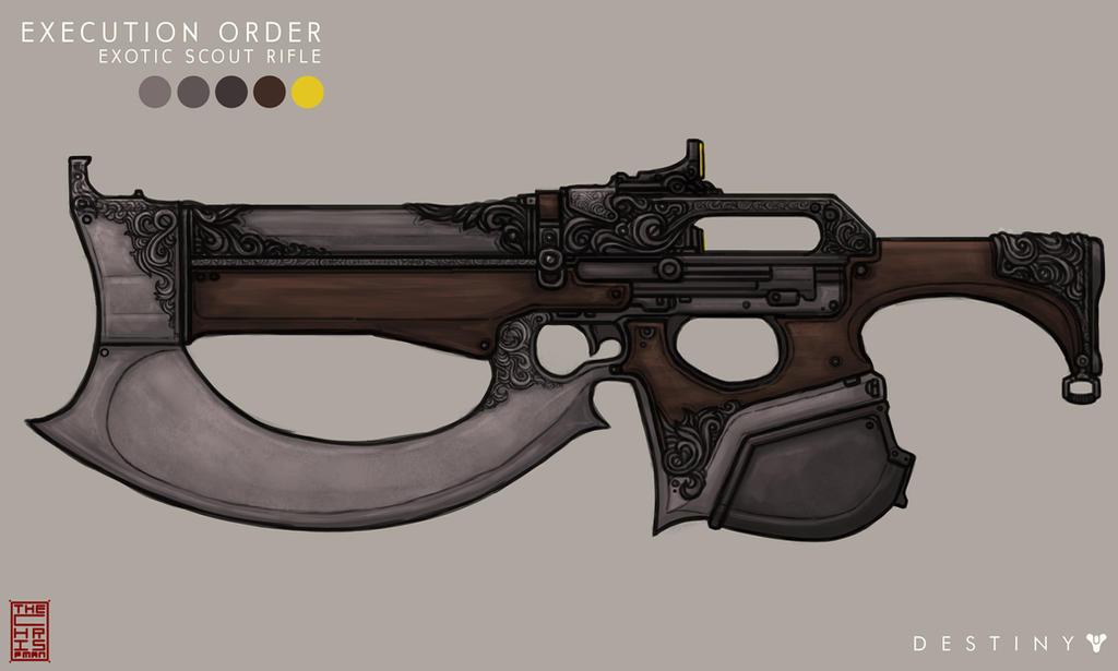 Destiny Concept Art 3- Execution Order by TheChrisPMan
