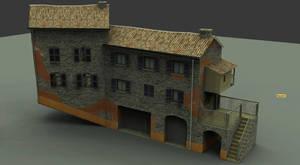 Cityscene house by sigurd3000