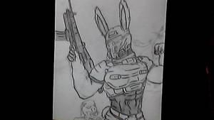 Bunny zombie hunter?