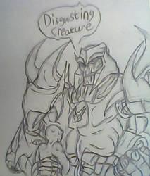-Disgusting isn't it- fanart