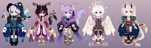 AUCTION ADOPTABLE OPEN [ PAYPAL] by Ryuseigkm-Adopts