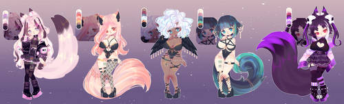 [ CLOSED] by Ryuseigkm-Adopts