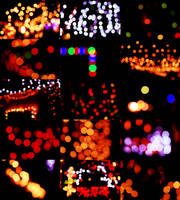 christmas bokeh. by Whole-Heartingly