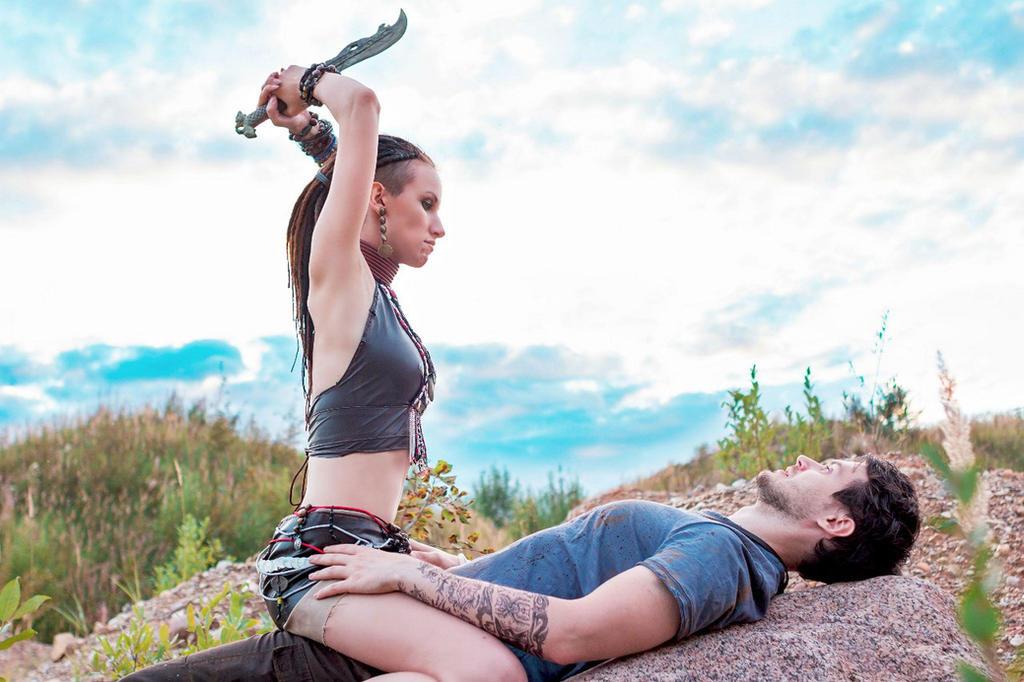 Citra and Jason (Far cry 3) by SabiNoir