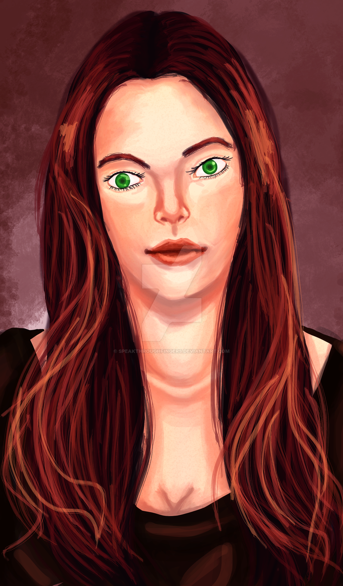 Lily Evans by SpeakThroughFingers