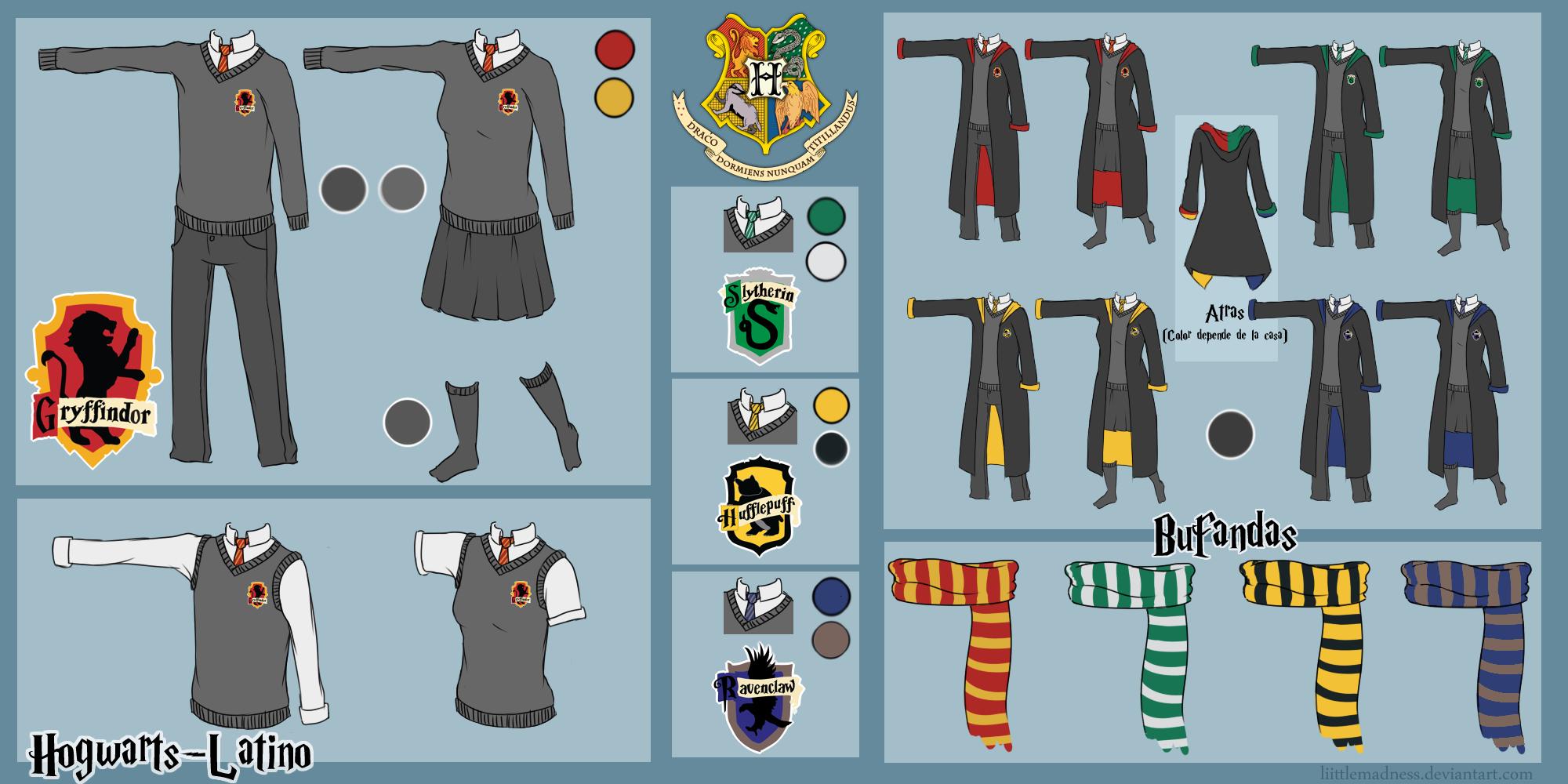 Primera actividad by hogwarts latino on deviantart - Juego de crear tu personaje y tu casa ...