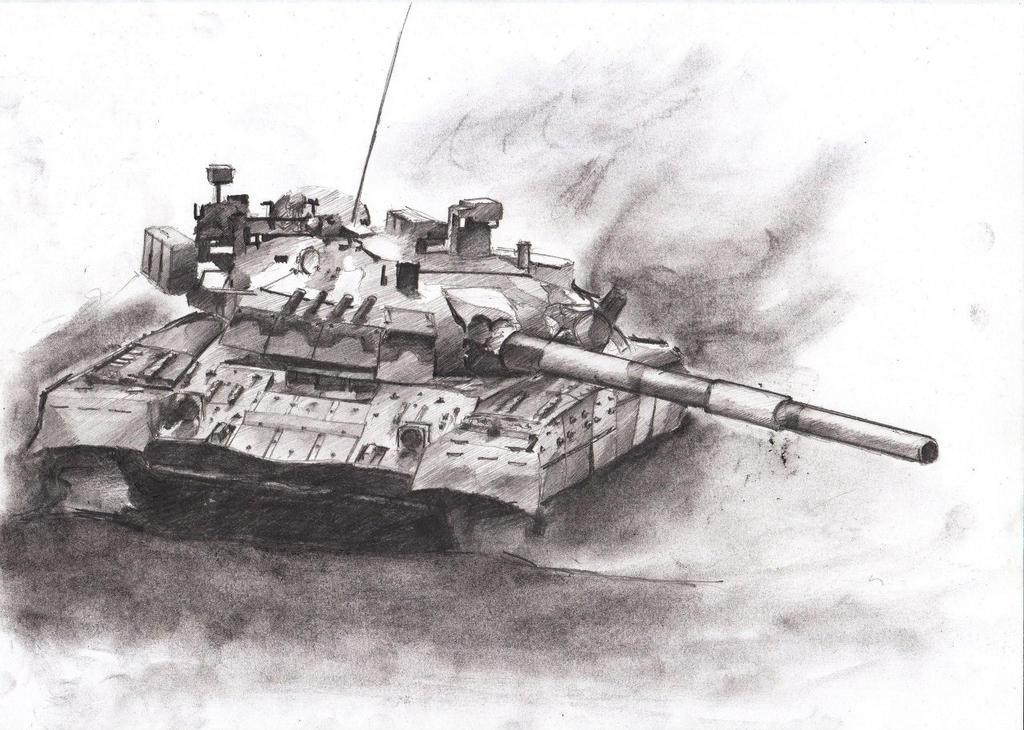 Soviet T-80UD by Makarov771