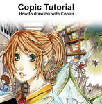 Copic Tutorial draw+ink