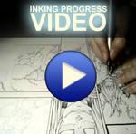 inking progress - tutorial