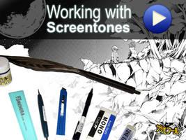 how to work with screentones by demoniacalchild