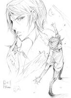 Subway Sketch - be free by demoniacalchild