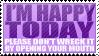 Happy today by TheParanoIIdPsycho