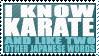 Karate by TheParanoIIdPsycho