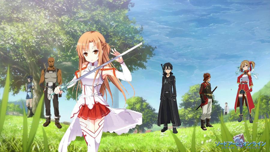 Sword Art Online Wallpaper by henrypurcell ... & Sword Art Online Wallpaper by henrypurcell on DeviantArt