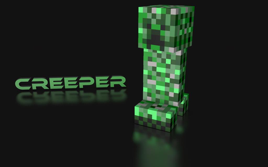 Minecraft - Creeper Wallpaper by DropDeadKontrol on DeviantArt