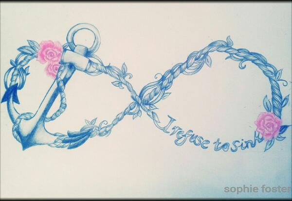 i refuse to sink anchor infinity wallpaper - photo #28